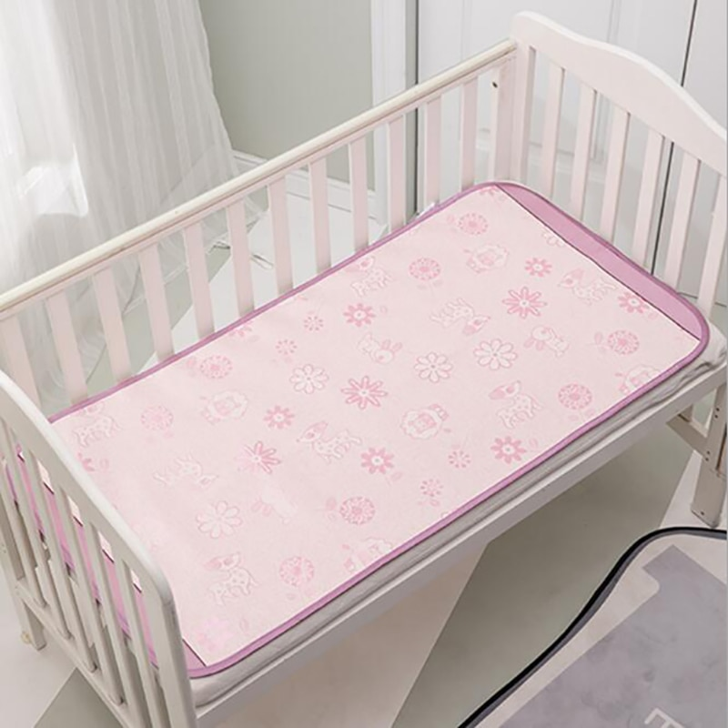 Baby Bed mat koele mat Beddengoed matras Wieg Crib Zomer koele mat cartoon Laken baby care BHS017