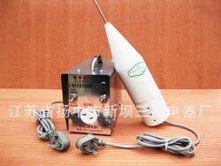 Detector de vacío eléctrico de chispa (enchufe de tres pines)/Detector de vacío de vacuna/detección de lámpara de ahorro de energía descarga eléctrica