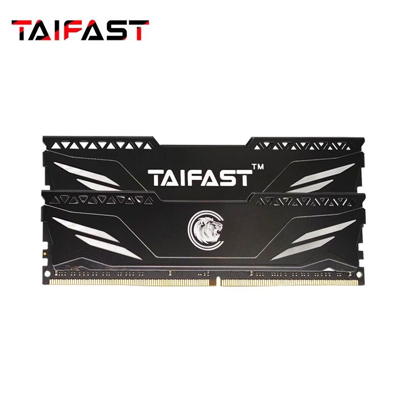 Ram da memória de taifast 4gb 8gb 16gb ddr4 com dissipador de calor para a memória do dissipador de calor do computador do desktop 2400mhz 2666mhz ram