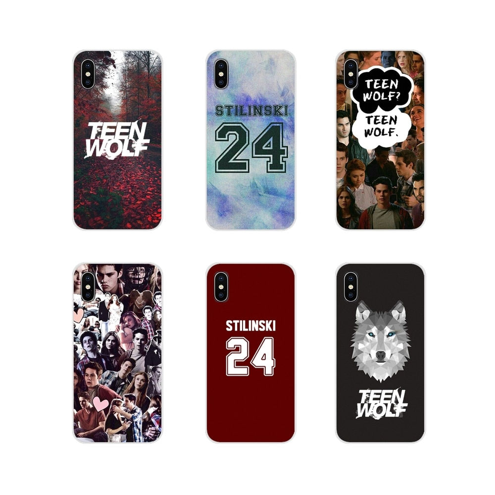 Pour Apple iPhone X XR XS 11Pro MAX 4S 5S 5C SE 6S 7 8 Plus ipod touch 5 6 Accessoires Téléphone Coque Couvre Teen Wolf
