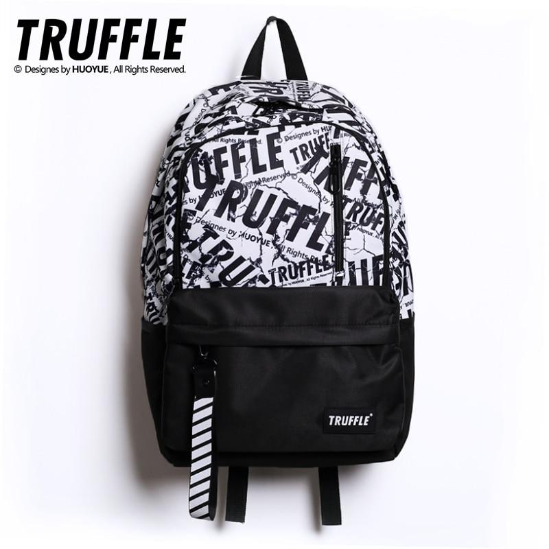¡Novedad del 2020! Mochila escolar de TRUFFLE, mochila para adolescentes de Anime, para hombre y mujer, mochila de viaje, impermeable para niños y niñas