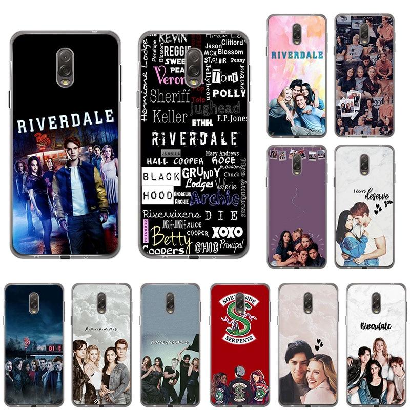 Riverdale del lado sur serpientes suave TPU de la caja del teléfono de silicona para Samsung Galaxy A71 A51 A20 A80 A70 A50 A90 A30 A40 A8s A9 A60 A10