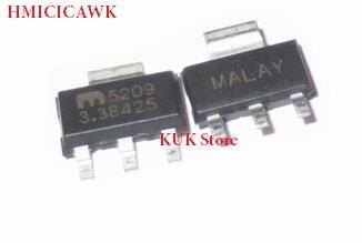HMCICIAWK MIC5209-3.3 MIC5209-3.3BS MIC5209-3.3WS 5209-3.3 52093.3 5209 SOT-223 NOVO Original 10 pçs/lote