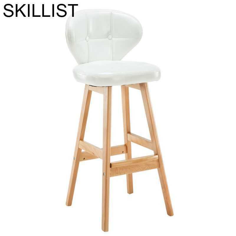 Фото - Барный стул Ikayaa, барный стул, современный стул, барный стул барный стул лайф мебель барный стул marvin