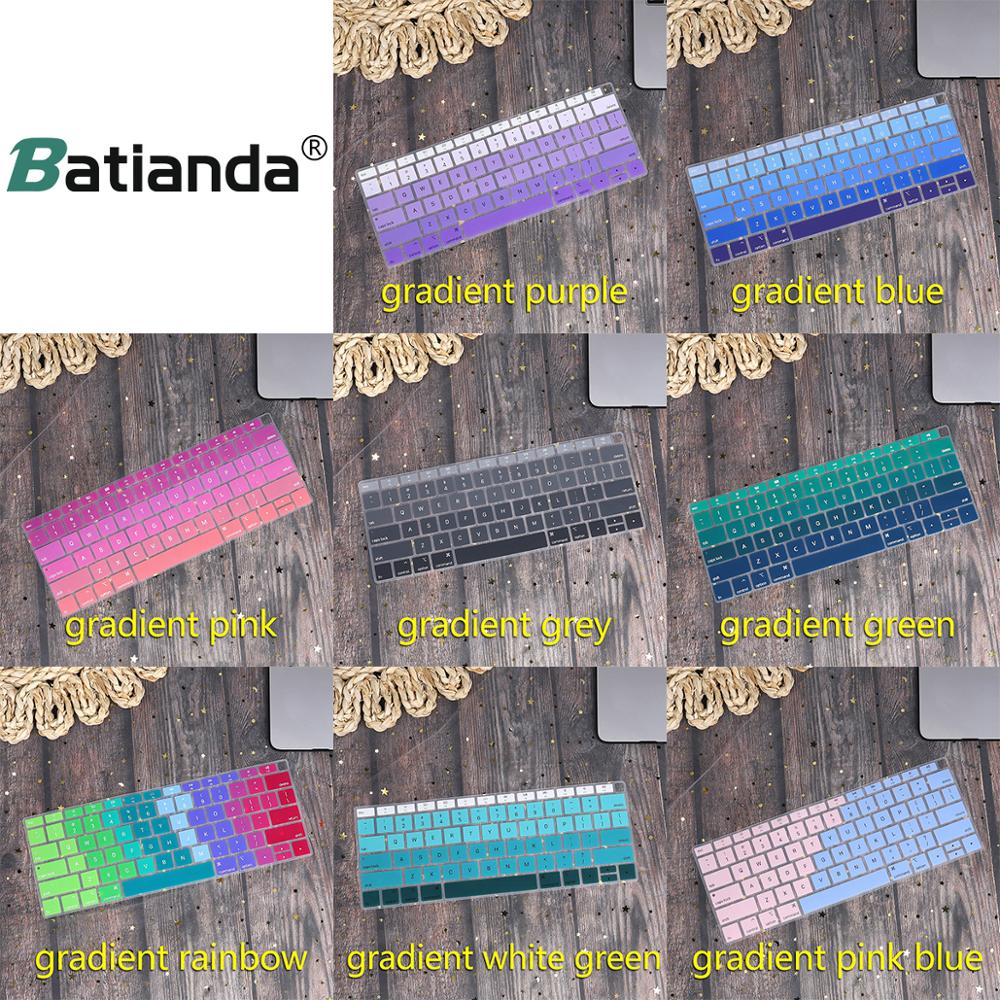 Peau de couverture de clavier en Silicone pour nouveau Macbook Air 13 13.3