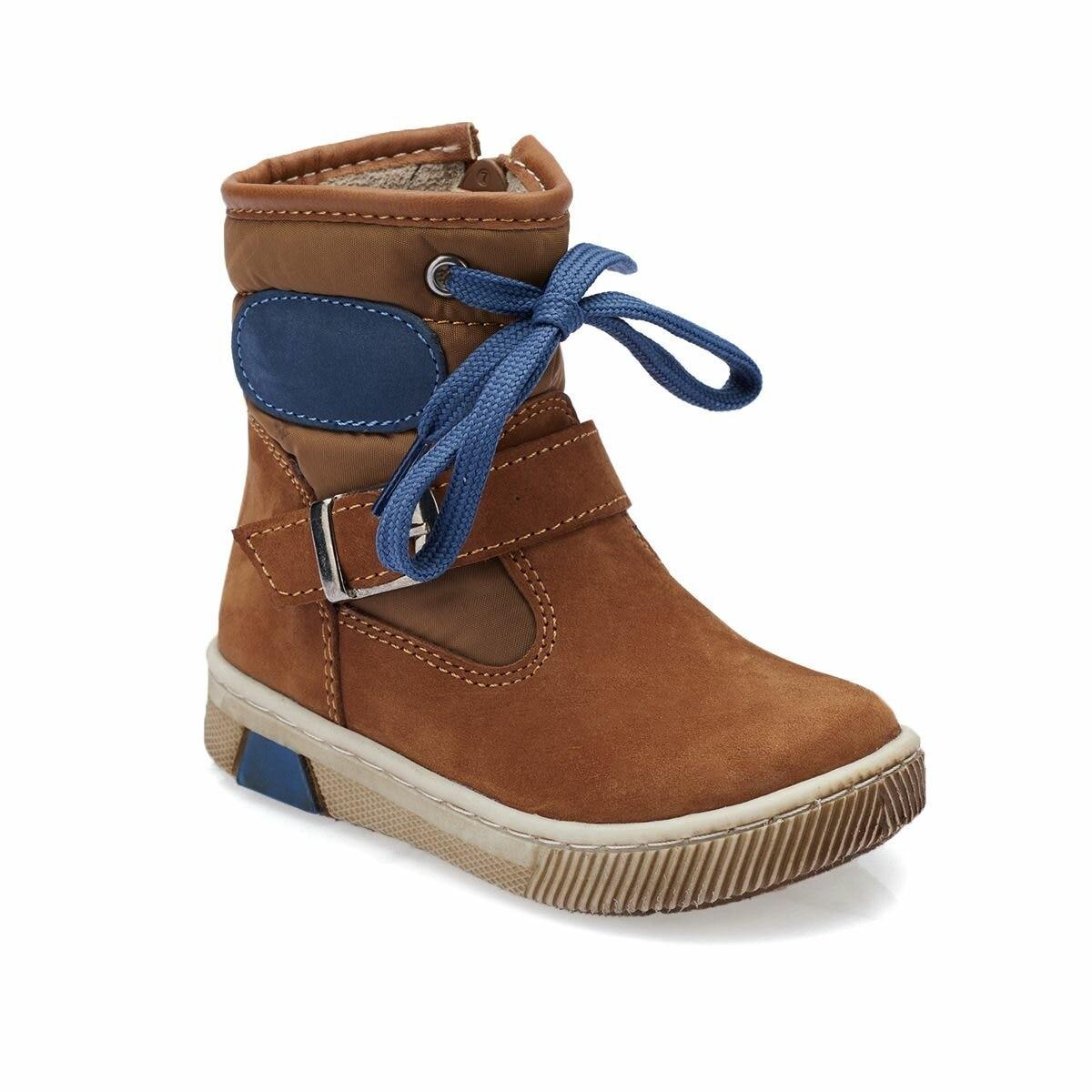 FLO 82.510729.B أحذية أطفال قرفة بولاريس