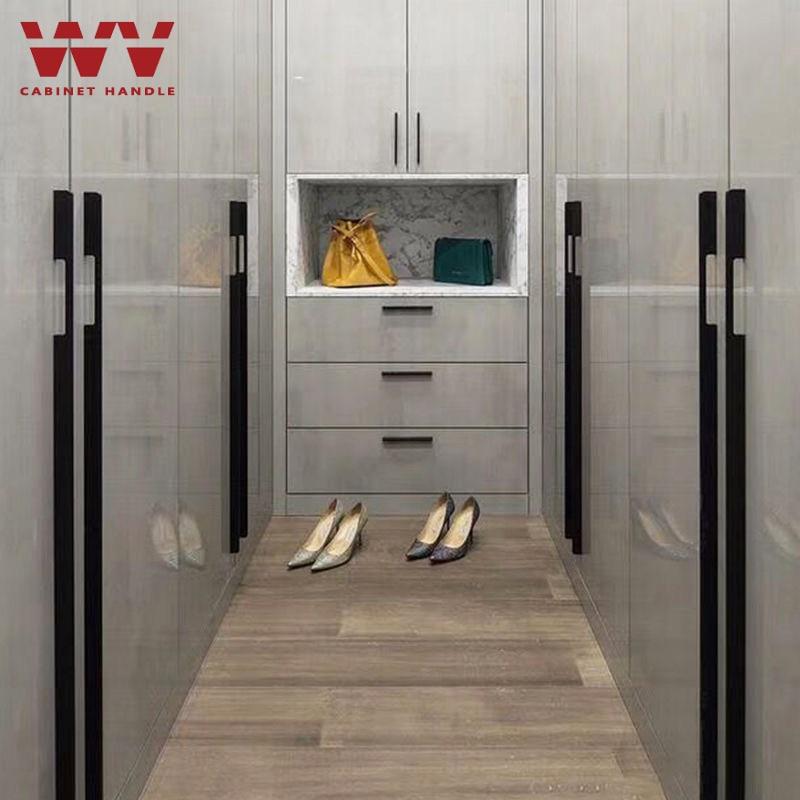 aliexpress.com - WV Modern American Handles Cabinet Door Handles Knob 800mm 1000mm Long Handles Matte Black Gold Brass Handles Wardrobe Pulls 299