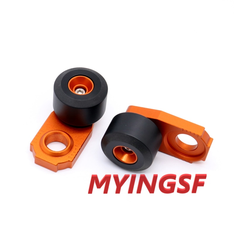 MMotorcycle Chain Adjuster Regulator Sliders For KTM EXC-F 250 350 450 500/EXC SIX-DAYS 125 250 300 450 Rear Wheel Protector