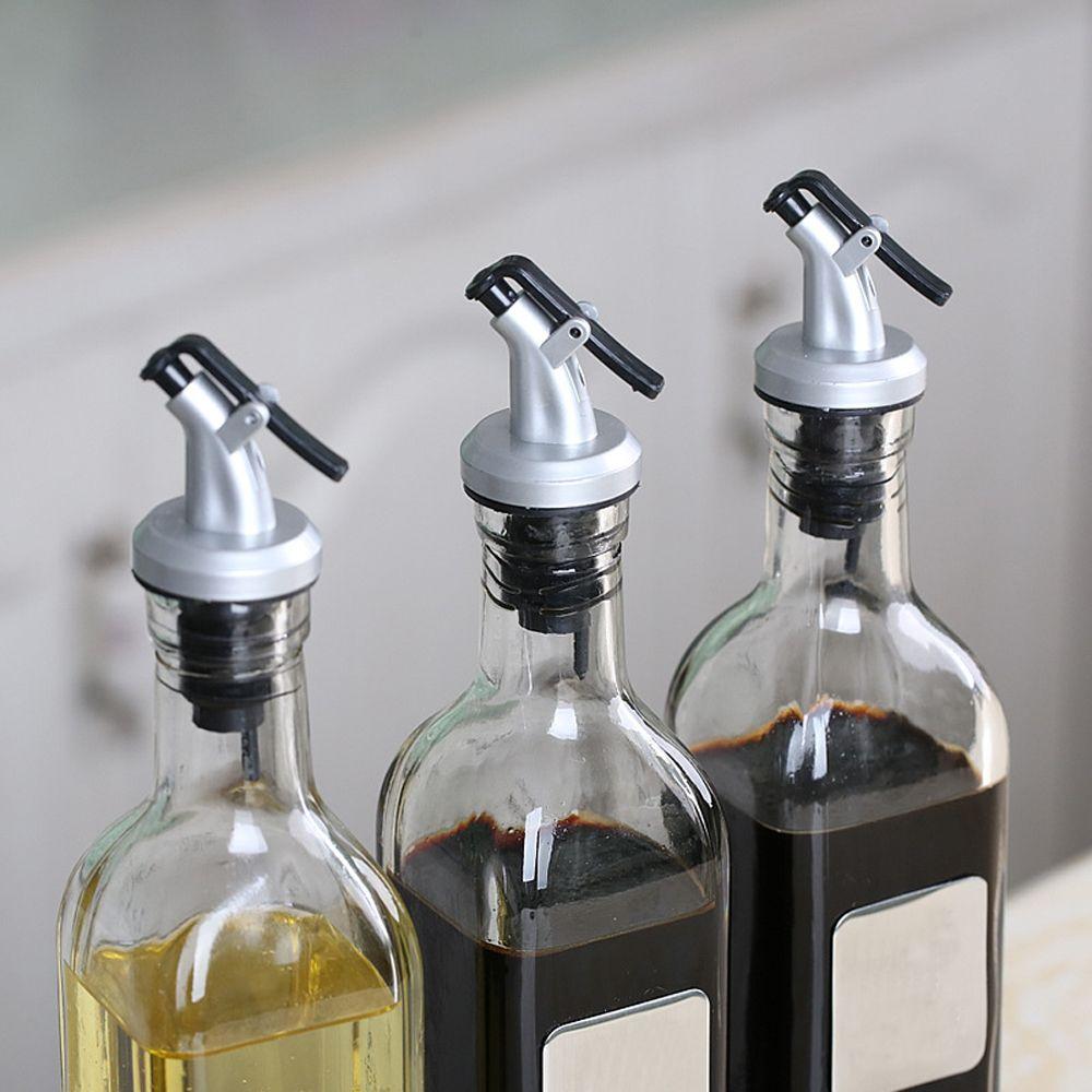 2 stücke Kunststoff Flasche Stopper Für Wein Öl Wiederverwendbare Wein Ausgießer Bar Werkzeuge Flasche Dispenser Flasche Kappe Stecker Düse Vakuum versiegelt