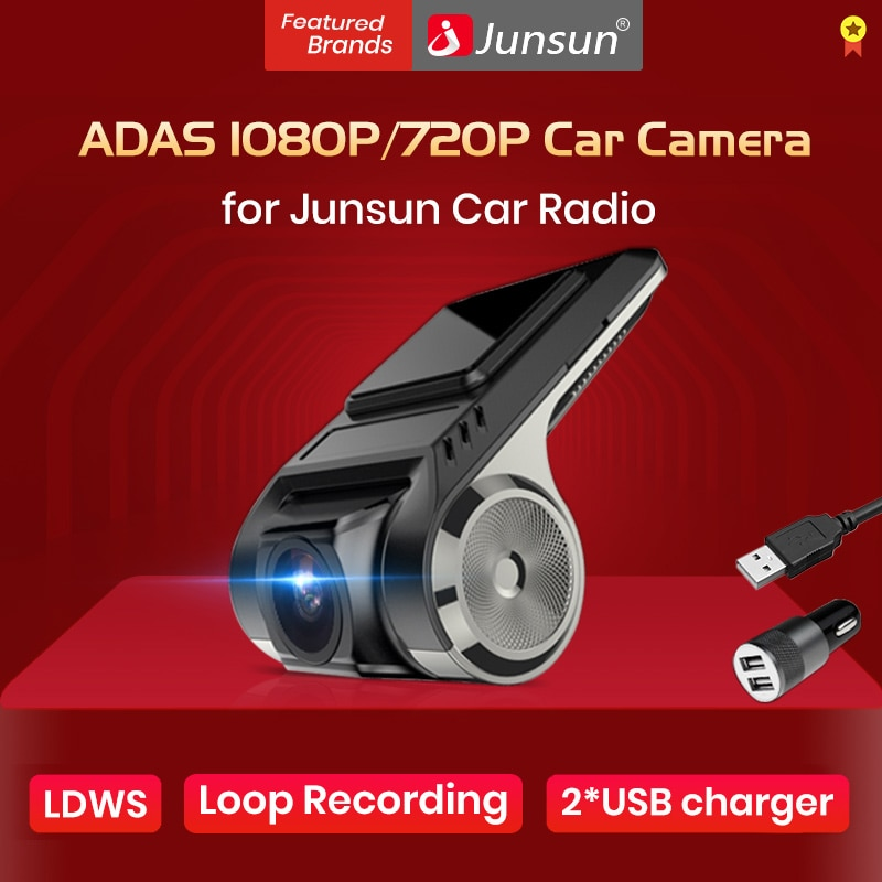 Only For Junsun Android Multimedia player with ADAS Car Dvr FHD 1080P or 720P