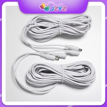 Power Extension Cable Connector Male To Female CCTV Security Camera 2.1*5.5mm