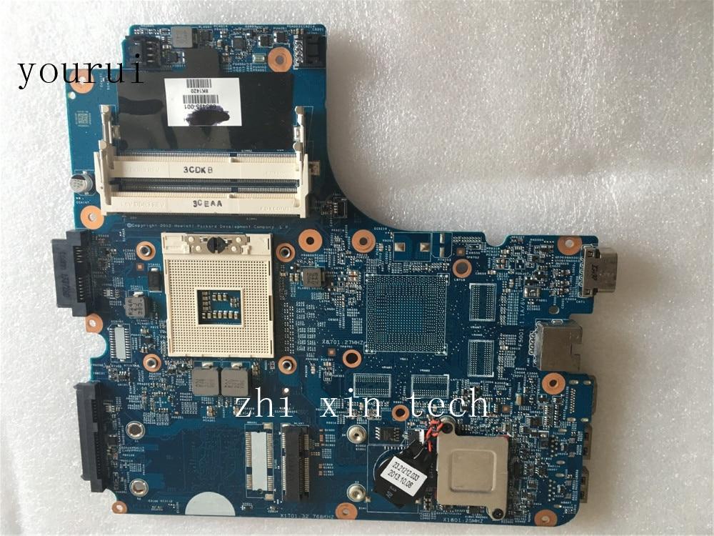 لوحة أم لأجهزة الكمبيوتر المحمول HP Probook 4540 4441 من yourui لوحة أم 683495-001 683495-501 DDR3 100% تم اختبارها pk