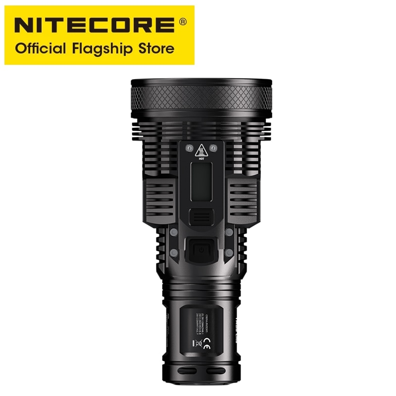 NITECORE TM39 Lite Searchlight Flashlight 5200LM Beam Throw 1500M OLED Rescue Rechargeable Torch with UMS4 Charger 4 Battery enlarge