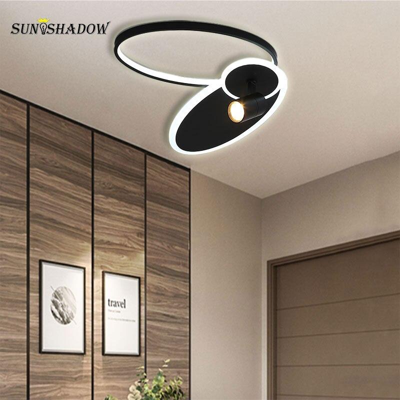 Современный светодиодный потолочный светильник в помещении комнатная потолочная лампа для Гостиная Спальня Обеденная Ресторан простота п...