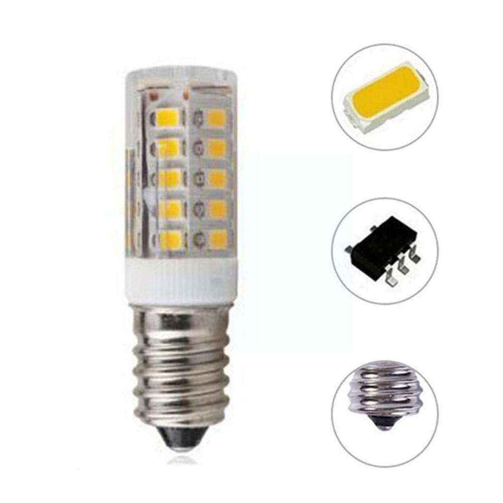 Фото - Светодиодсветильник лампочка E14 3 Вт, лампочка-кукуруза для холодильника, светодиодный ная лампочка, белая/теплая галогенная лампочсветиль... лампочка