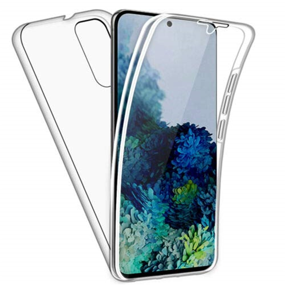 Чехол с полным покрытием 360 градусов для Samsung Galaxy A10 A10S A20e A20 A20S A30 A40 A50 A51 A60 A70 A71, прозрачная двухслойная защитная задняя крышка