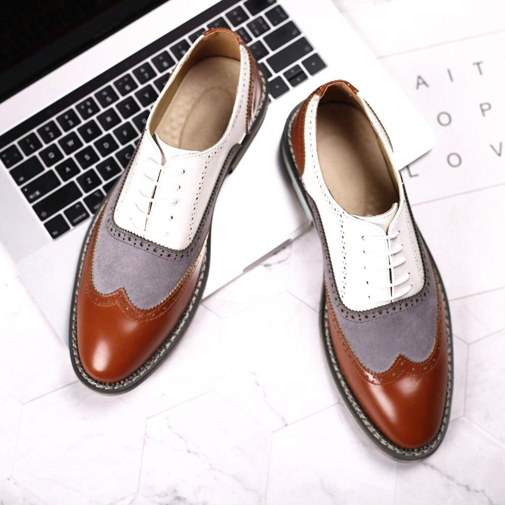 Новинка 2021, мужские классические туфли из натуральной кожи, мужские оксфорды, итальянские классические винтажные мужские туфли-броги на шн...