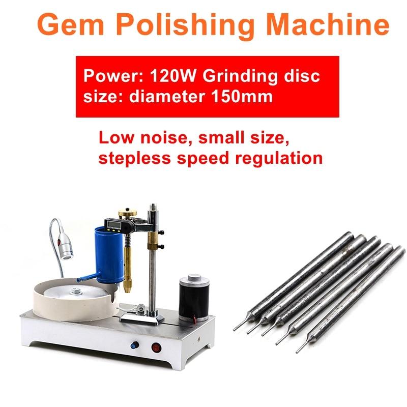 Precision Jewelry Stone Polishing Machine Molding Machine Gem Faceting Machine DC Stepless Speed Gem Angle Grinder