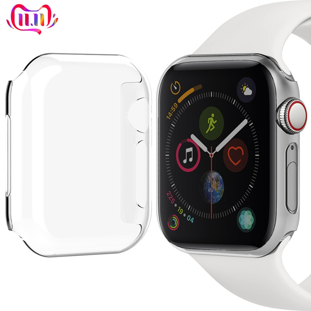 Funda de reloj para Apple Watch, cubierta colorida, marco de PC para...