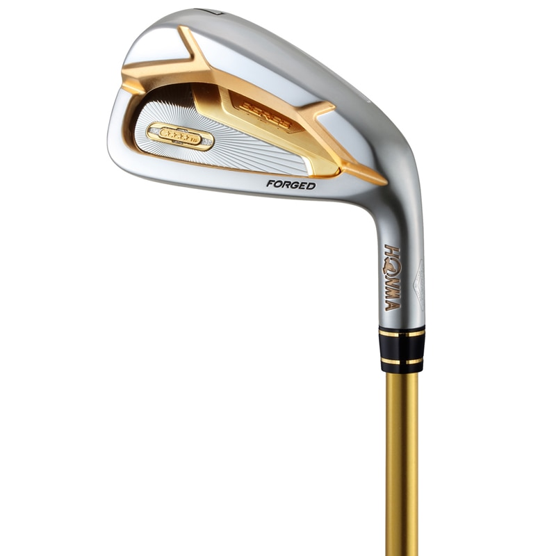The new HONMA 07 irons set Golf clubs HONMA BERES 07 four-star men's irons set new set of 10 clubs