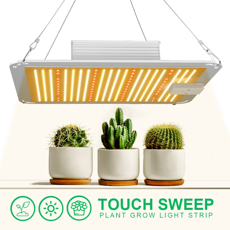 1000W Plant Light Brand New Indoor High Power Plant LED Light Plant Fill Light Dual Control Greenhouse Plant Growth Light