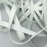 20 м оптовая продажа, высокое качество, 3/4/5/8/10 мм, Нетоксичная мягкая суперэластичная белая резиновая эластичная лента, для купальника «сдела...