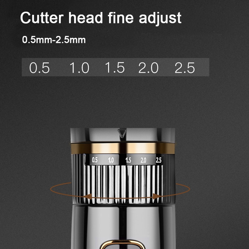 Riwa Barber USB Electric Hair Clippers Trimmers For Men Adults Kids Cordless Rechargeable Hair Cutter Machine Professional enlarge