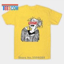 Himiko Toga Jap Lolita Logo chemise homme Sexy Anime Waifu Ahegao garçons t-shirt homme Waifu camiseta t-shirts Waifu t-shirt pour hommes t-shirts