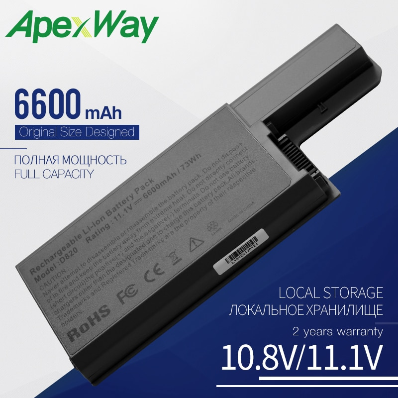 6600mAh bateria do portátil para Dell 451-10308 451-10309 451-10326 451-10327 CF623 CF704 CF711 DF192 DF230 DF249 FF231 FF232 GX047
