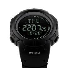 SKMEI 1231 Waterproof Fully Automatic Calendar Mens Compass Sports Watch SW