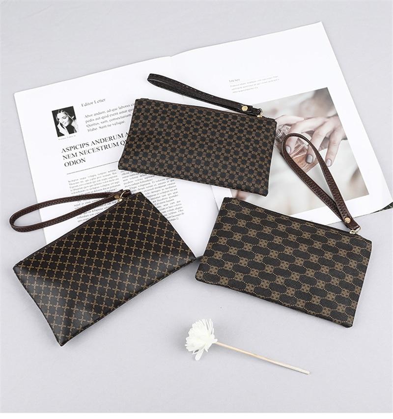 Women Wallets Fashion Long Leather Top Quality Card Holder Classic Female Purse Zipper  Wallet For Ladies presbyopia handbags