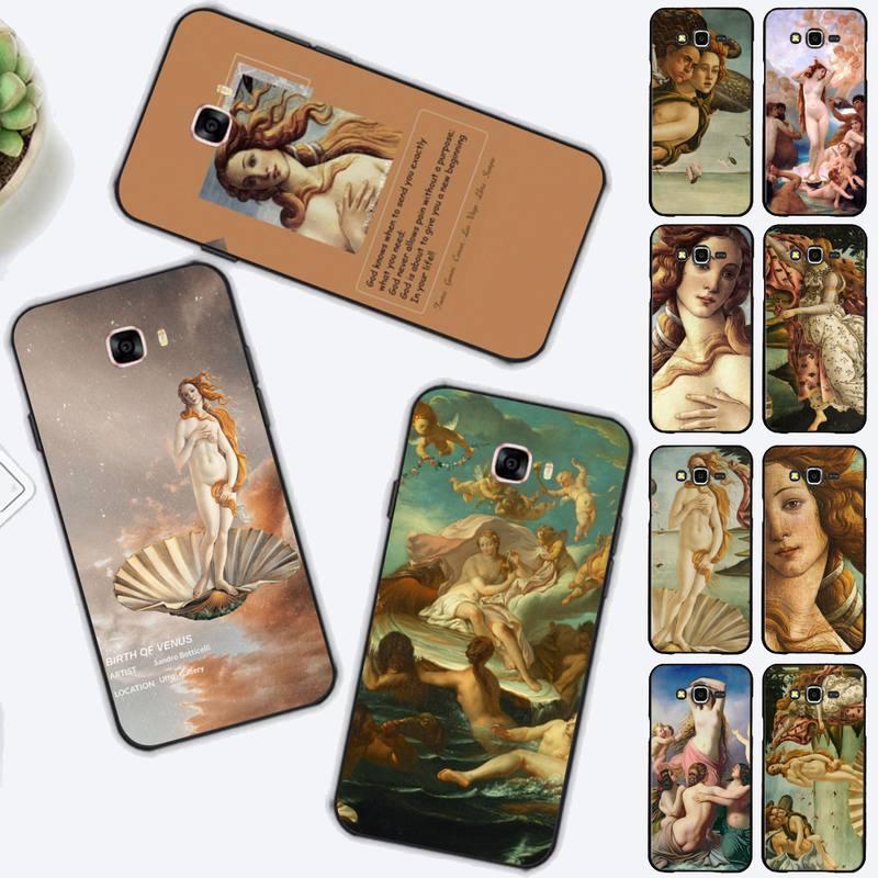 FHNBLJ-funda de teléfono con pintura artística de