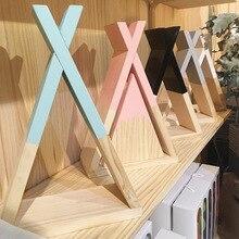 Étagère de rangement pour la maison   Décoration nordique pour enfants bébé étagère de rangement pour fourchette en bois, décoration pour chambre denfants, cadeau mural pour la maison salon