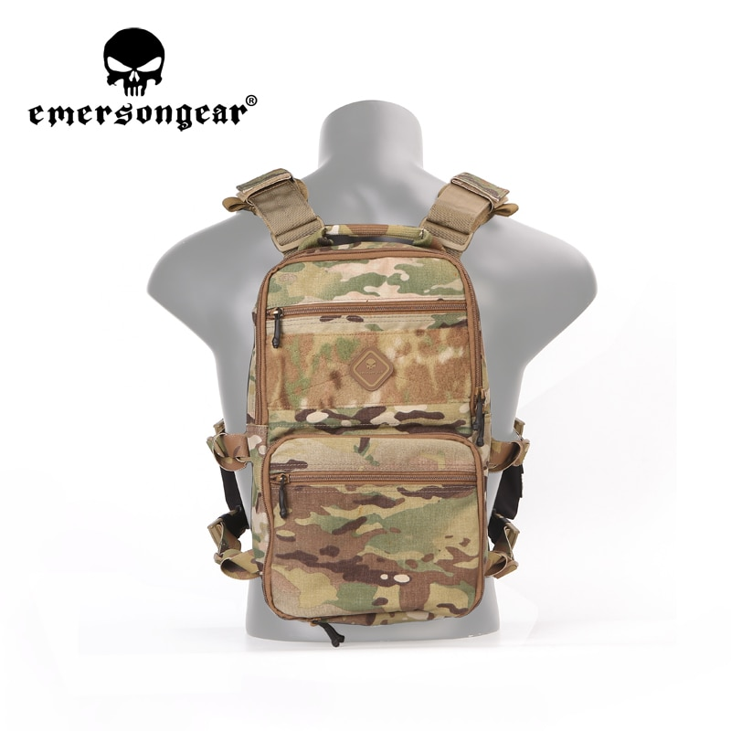 Emersongear D3 Multi-Purposed Backpack Bag Army MOLLE Pouch Daily Life Hunting Sport Outdoor Climb Tactical Airsoft Carrier Case