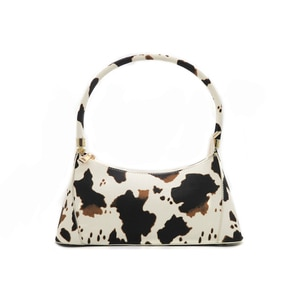 fashion milk cow prints woman shoulder bag Small Bags for Girl  pu leather bags simple casual elegant classical lady hand bags