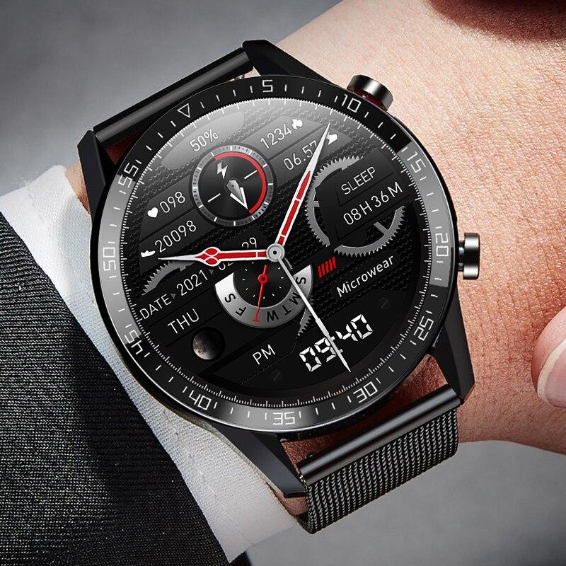 Смарт-часы мужские с защитой класса IP68, для Huawei, Xiaomi, Android, Iphone, IOS, Android 2021