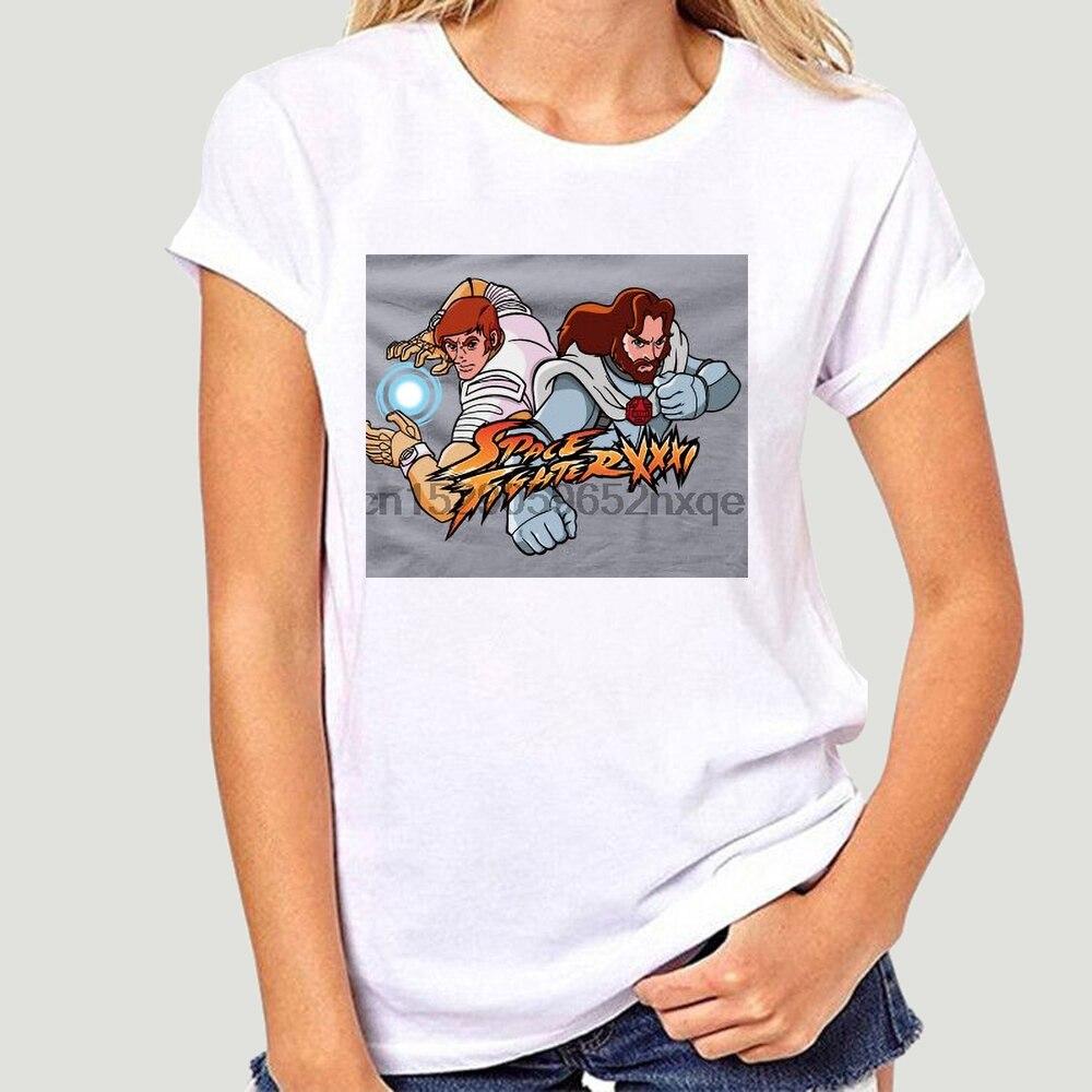 Camisa masculina tshirt space fighter xxxi ulysse 31 cinza tshirts feminino T-Shirt-1606D