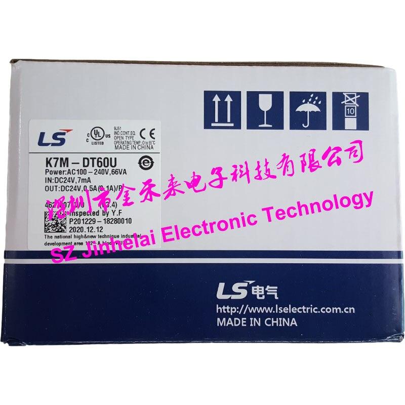 100% جديد و الأصلي K7M-DT60U LS PLC تحكم