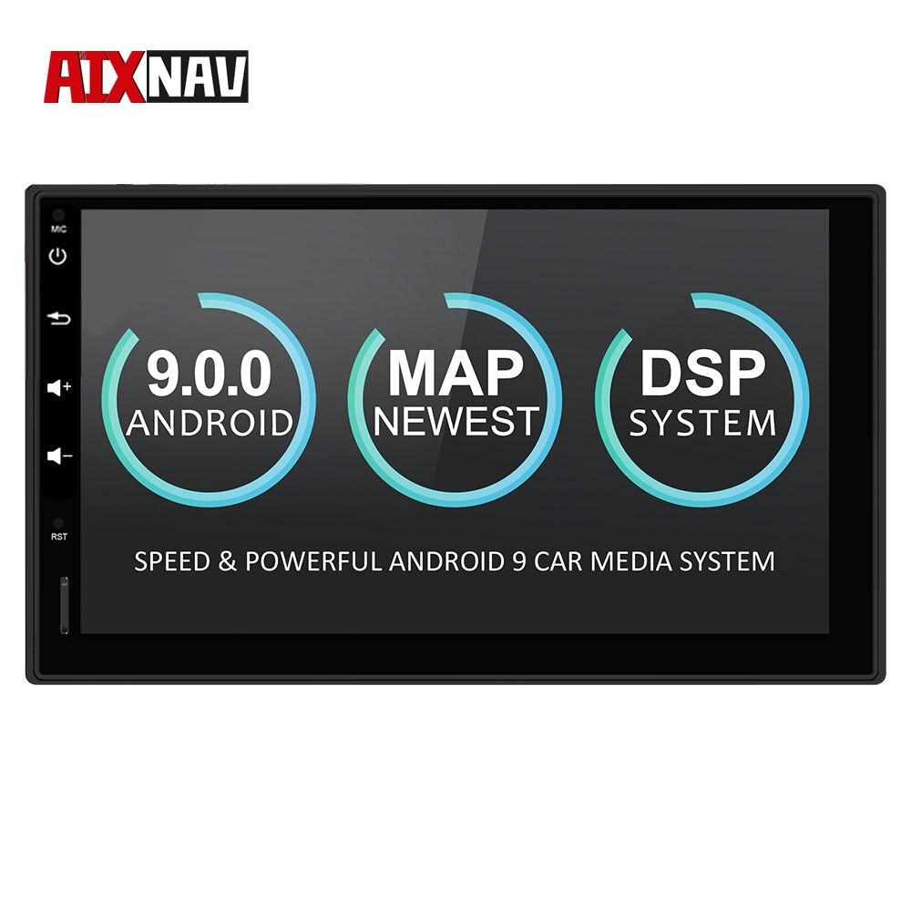 Camión navegador turístico Android Autoradio Bluetooth reproductor de registro Auto Radio espejo enlace para Nissan TIIDA x-trail navegación GPS