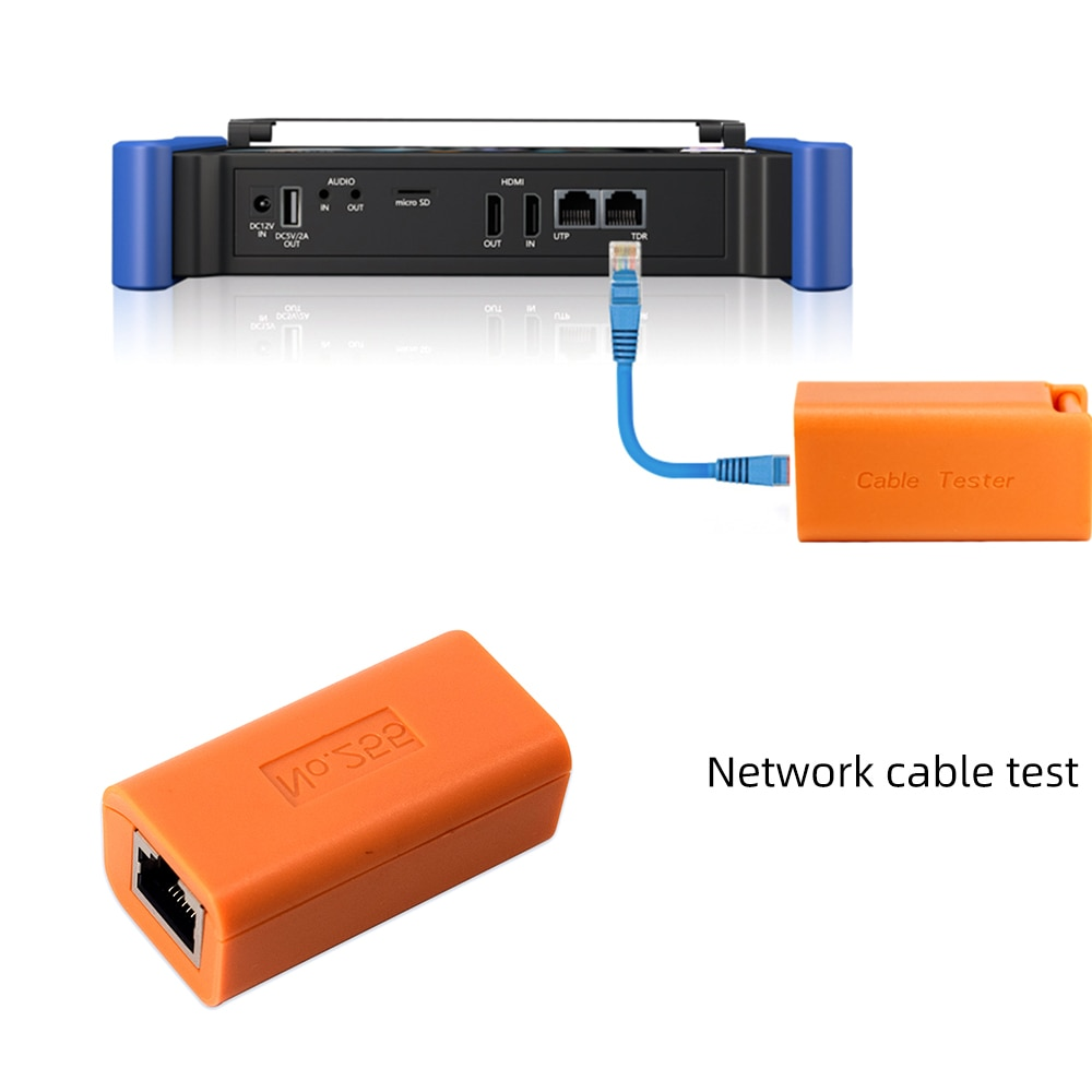 2020 hot sale Network cable test box with wangluo cctv tester  original accessories cable tester with wangluo cctv tester enlarge