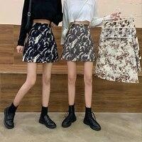 summer 2021 fashion a line elegant slim hip bag mini skirts high waist casual tie dye skirts for women clothing plus size m 3xl