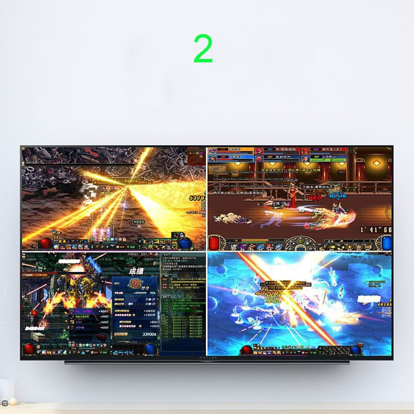 HDMI 16x1 Quad Multi-viewer Switcher 16 In 1 Out Seamless Switch Multiviewer Picture Screen Divider Converter Ethernet RS232 enlarge