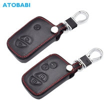 Leather Car Key Cover For Lexus ES 300h 250 350 IS GS CT200h RX CT200 ES240 GX400 LX570 RX270 Smart Keychian Remote Fob Case Bag