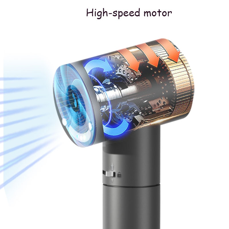 Outdoor Wireless Portable Hair Dryer with Hot and Cold Wind Switch  for Home Travel Pet Baby Equipment enlarge