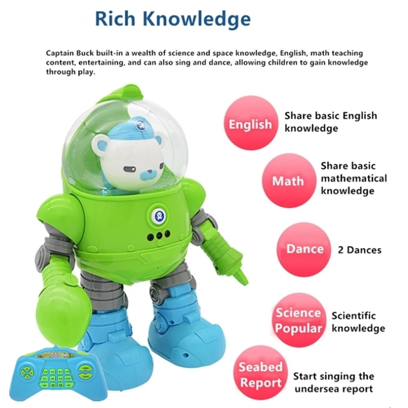 Gesture Sensing Smart Programmaing RC Robot Voice Control Interaction Enlightenment Popular Science Early Education Kid RC Toys