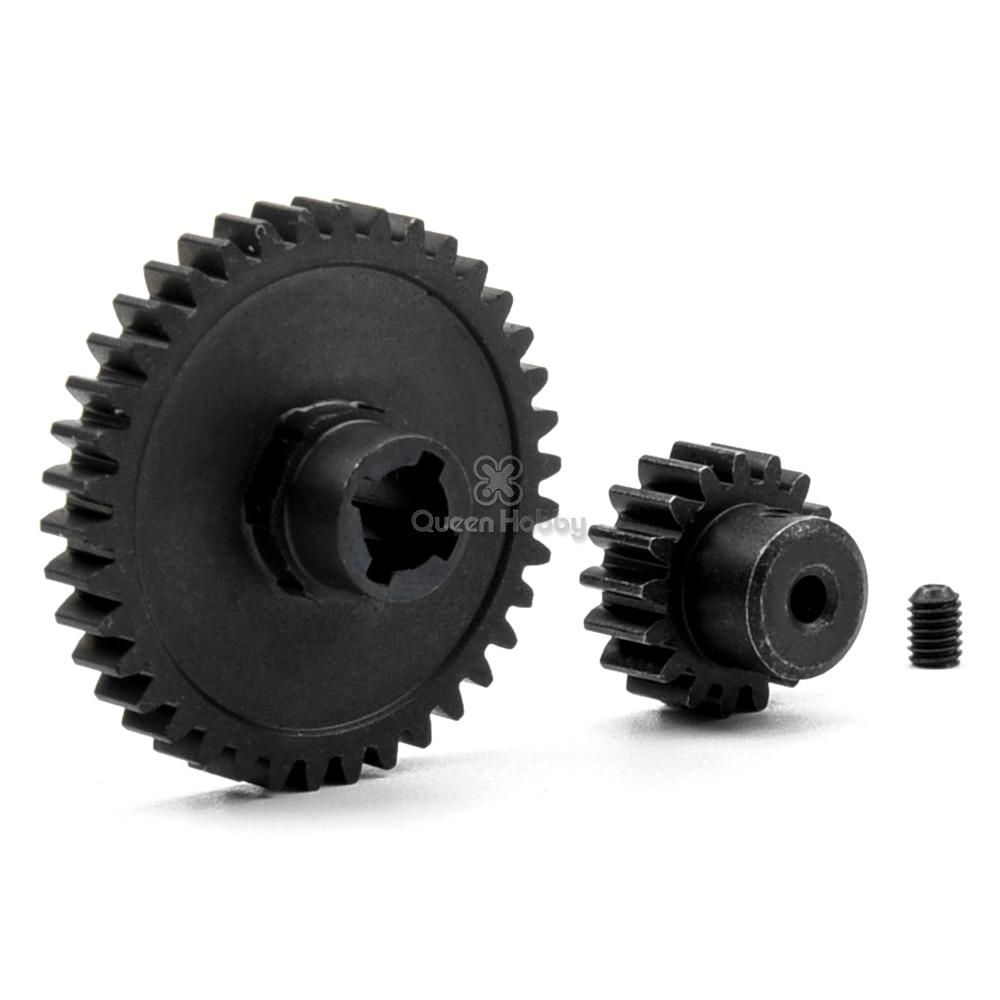 Engranaje principal de aleación diferente 38T + engranaje de Motor 17T para...