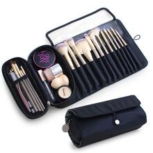 Make-up Pinsel Tasche Reise Veranstalter Kosmetik tasche Multifunktions Make-Up Pinsel Protector Sarg Make-Up Werkzeuge Rolling Beutel