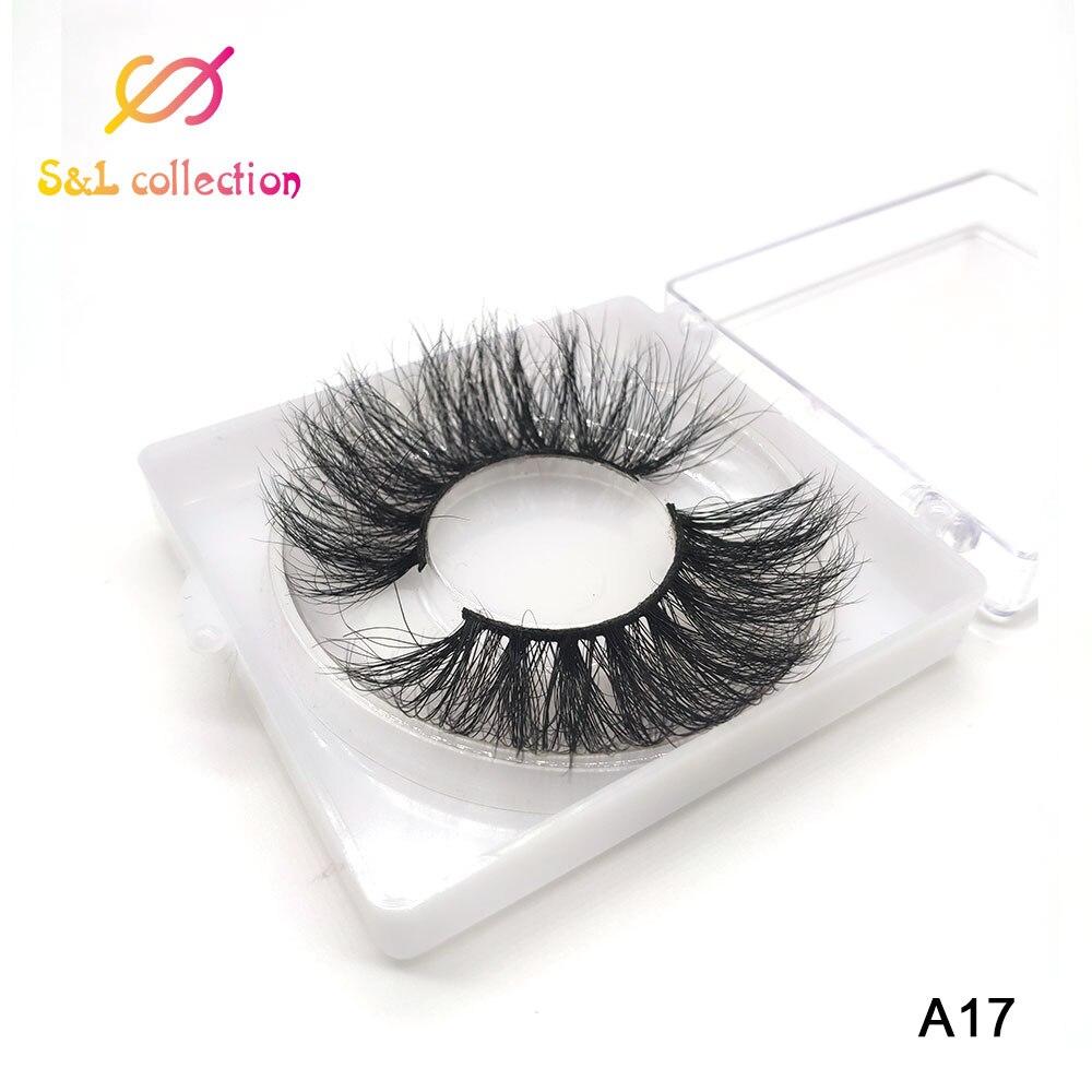 25mm Mink Eyelashes Dramatic Long Natural Lashes Handmade 25 mm 3d Mink Lashes Make Up Vendors Fake Eyelashes