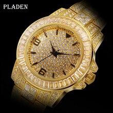 Dropshipping 2020 Pladen Brilliance 3 Iced Out Rolexable_watch Mannen Oyster Perpetual Datejust 18 K Gouden Horloge Mannen Met Gratis Doos