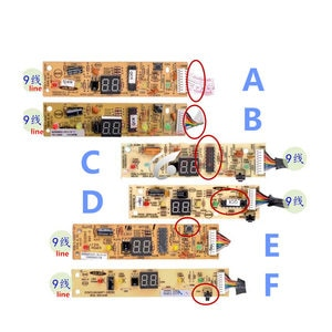good working for Air conditioning display board remote control receiver board TL32GNFT-XS = 1090251109 1090350005